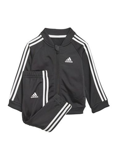 adidas Adidas Erkek Çocuk Siyah-Beyaz Eşofman Takımı Siyah